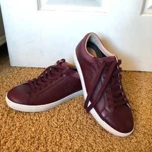 Lacoste Red Sneakers